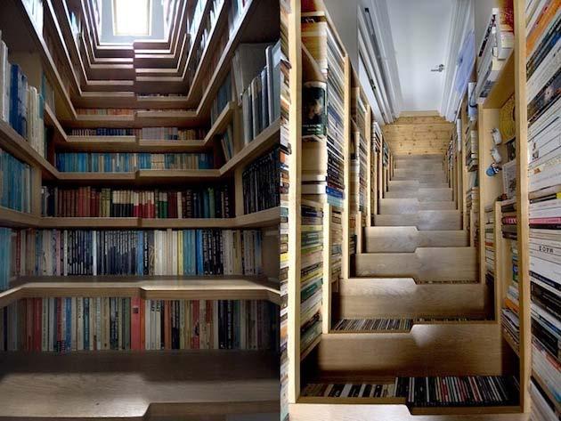 Стълбище библиотека