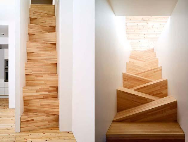 Креативен дизайн за стълбище