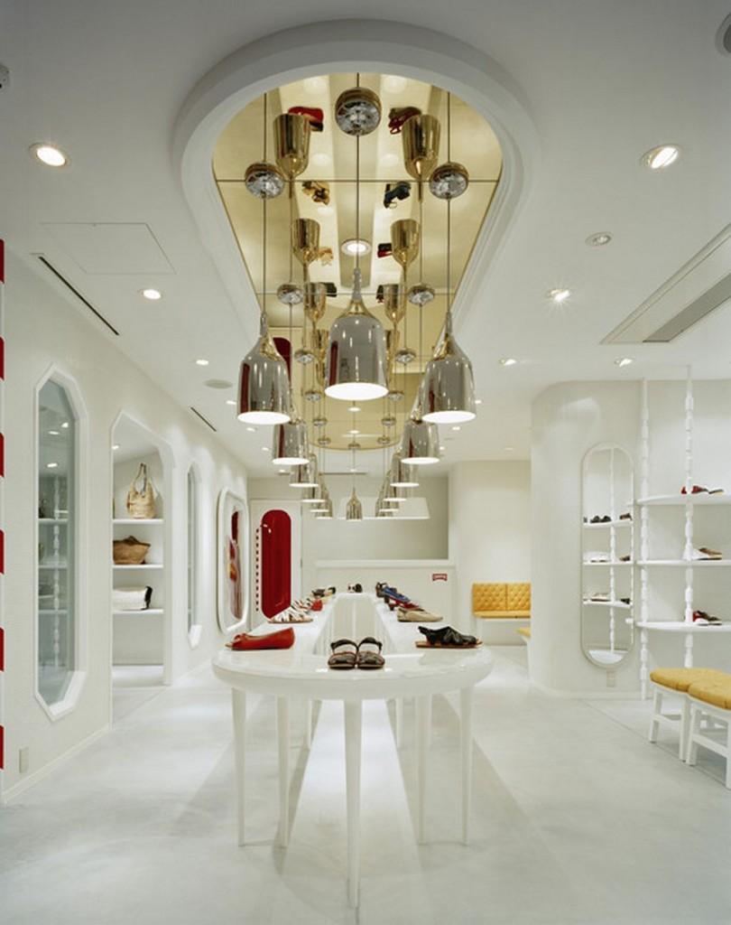 Интериорен дизайн на магазин за обувки