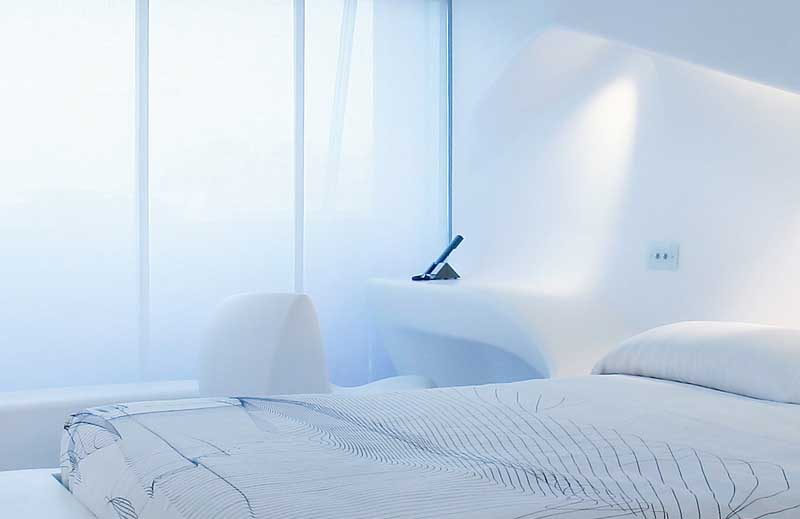 Интериорен дизайн на хотелска стая