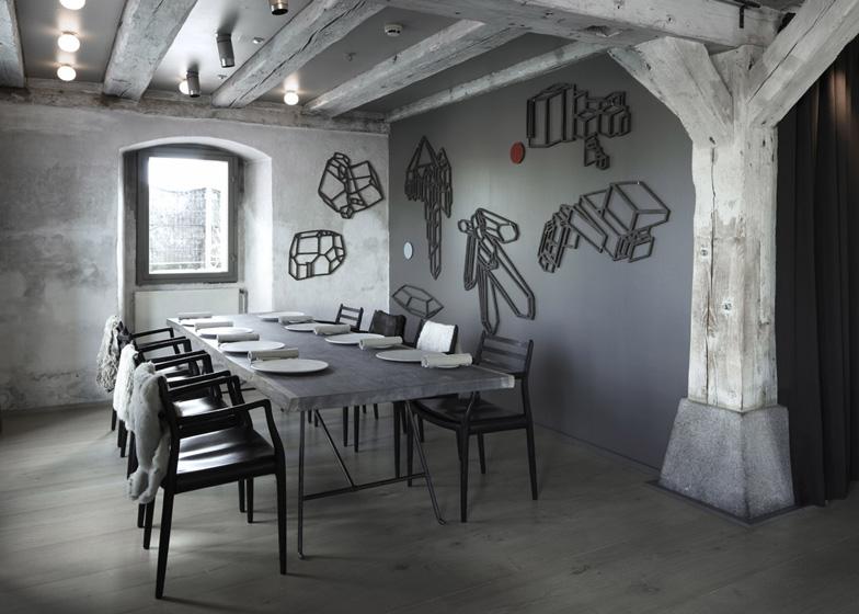 Интериорен дизайн на ресторант Нома