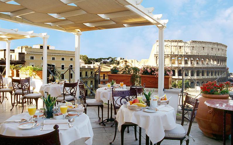 Интериорен дизайн на ресторант Италия