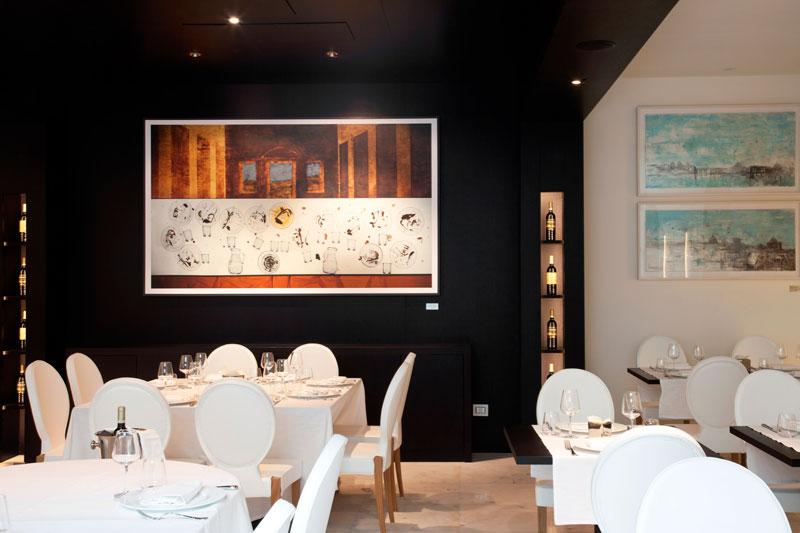 Интериорен дизайн на ресторант Рим