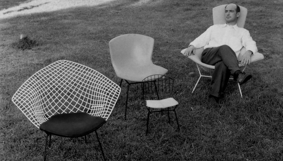 Хари Бертоя - италиански дизайнер на мебели