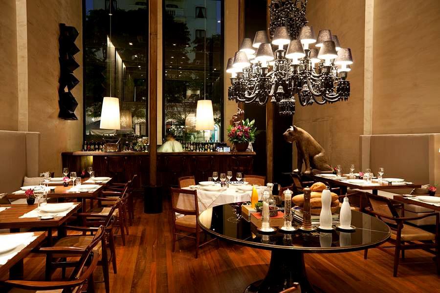 Вътрешен дизай на ресторант