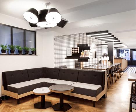 Интериорен дизайн на кафе