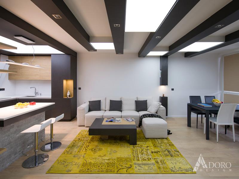 Модерен Интериорен Дизайн Апартамент Варна