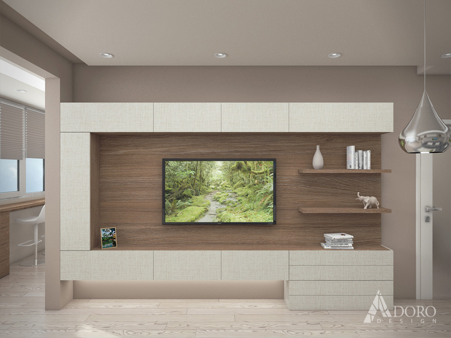 Интериорен дизайн Варна ТВ Модул