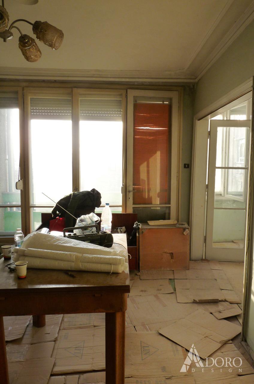 Реализиран интериорен дизайн апартамент гр. Бургас