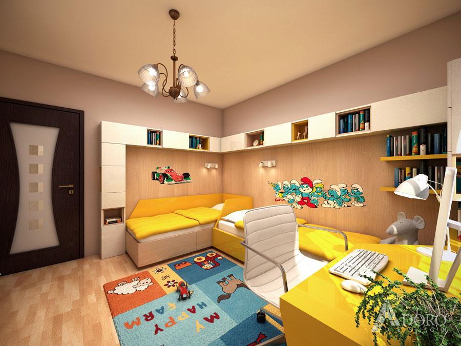 Интериорен дизайн детска стая Варна