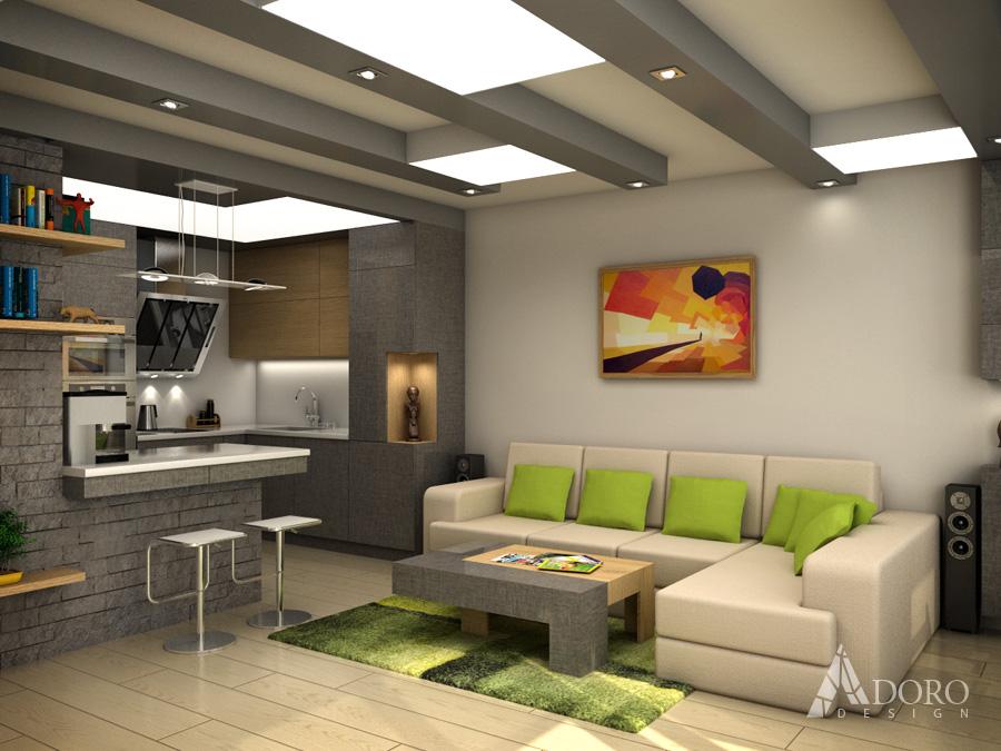 Жилищен интериор на апартамент Варна
