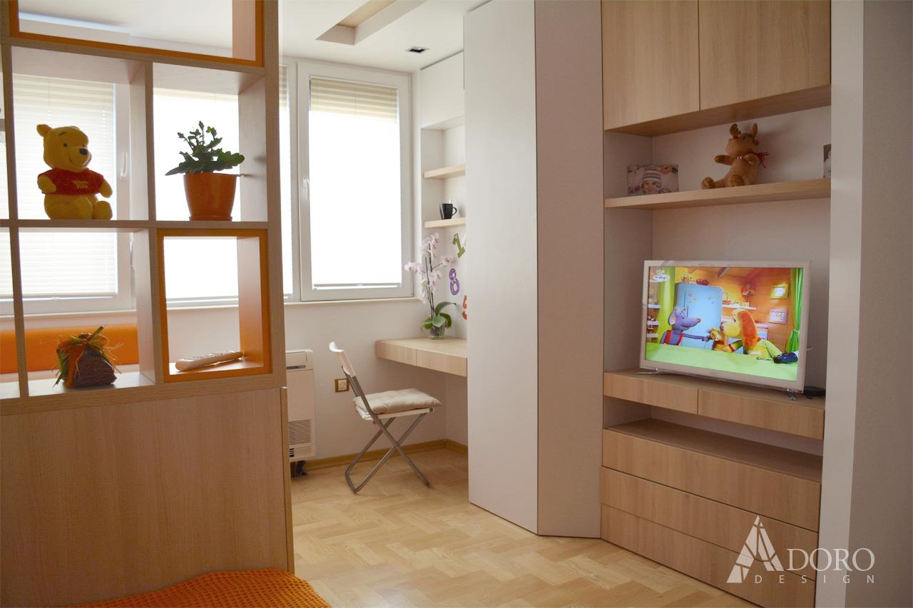 Реализиран интериорен проект на детска стая гр. Варна