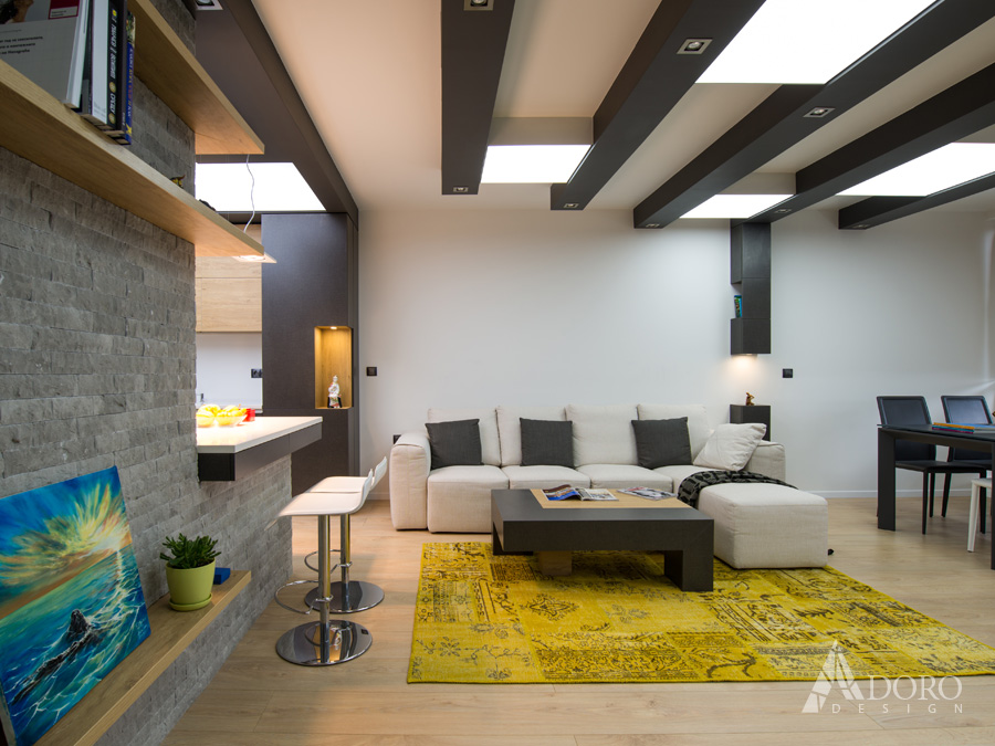 Реализация на жилищен интериор на апартамент Варна