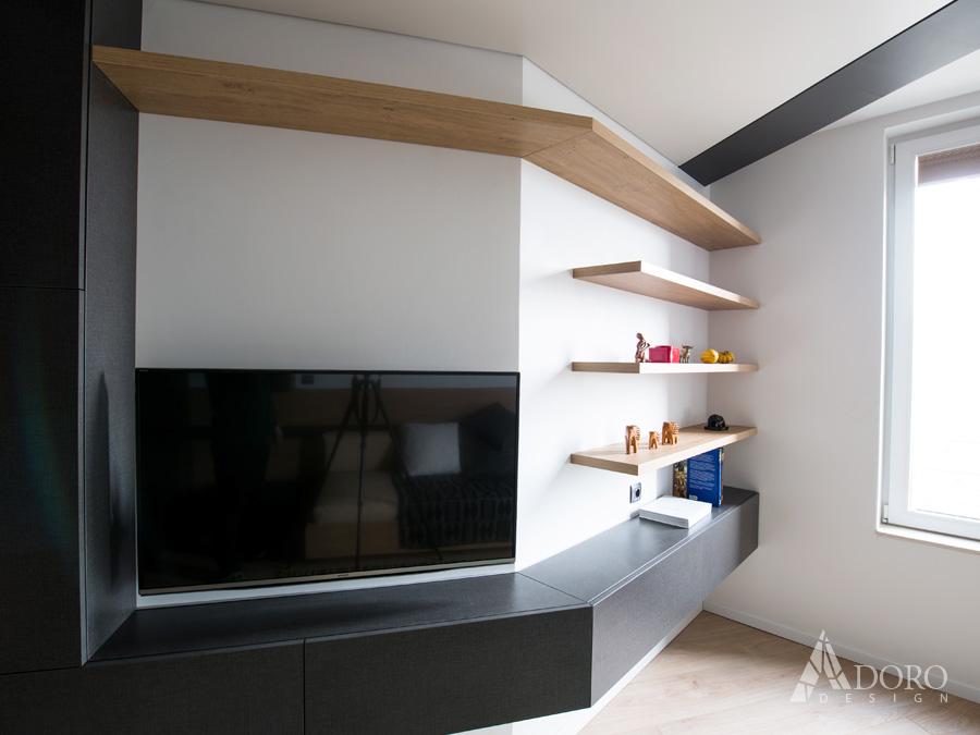 Интериорен дизайн на Гостна - Кабинет