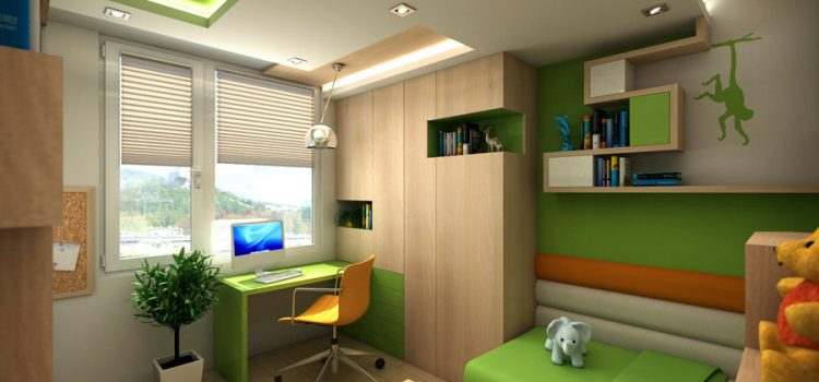 Интериорен проект на детска стая