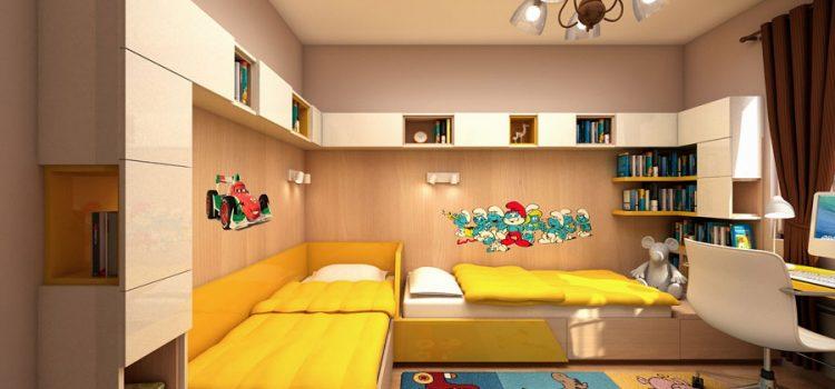Интериорен дизайн на детска стая Варна