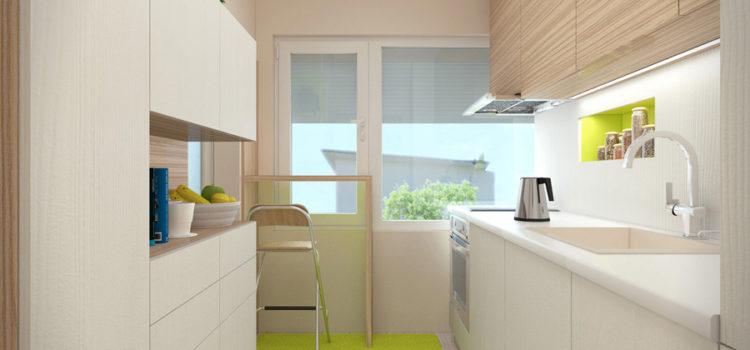 Интериорен дизайн на кухня град Варна