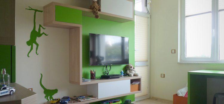 Реализация на интериор на детска стая град Варна