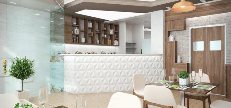 Интериорен дизайн на заведение град Варна
