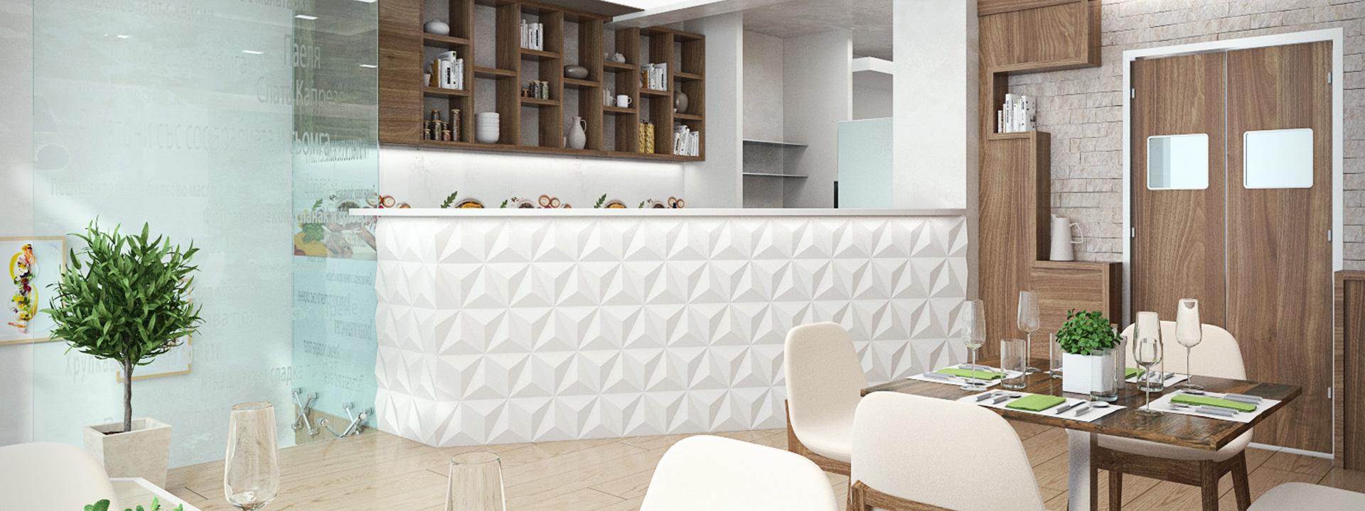 Интериорен дизайн на ресторант Варна