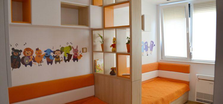 Реализация на интериорен проект на детска стая град Варна